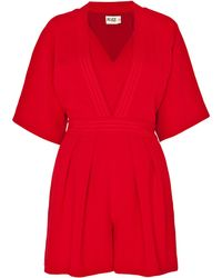 Alice By Temperley - Obi Playsuit - Lyst
