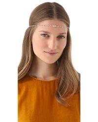 Dauphines of New York - April Birthday Party Headband - Lyst