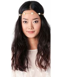 Dauphines of New York - Band Of Gold Headband - Lyst