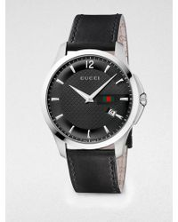 Gucci G Timeless Stainless Steel Watch - Lyst