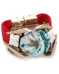 Holst + Lee - Ice Ice Baby Bracelet - Lyst