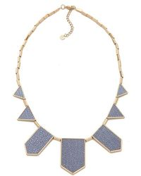 House of Harlow 1960 - Blue Star Station Necklace - Lyst