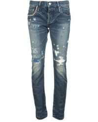 Hysteric Glamour - Denim Straight Jean - Lyst