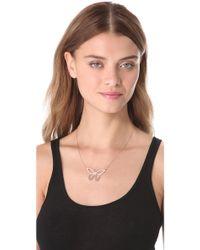 Jennifer Zeuner - Lani Cutout Butterfly Necklace - Lyst