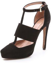 Jill Stuart - Griselda Suede Court Shoes - Lyst