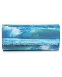 Juicy Couture - Wave Print Clutch - Lyst
