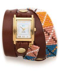 La Mer Collections - Guatemala Wrap Watch - Lyst
