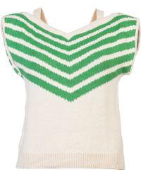 Lauren Moffatt - Chevron Knit Sweater - Lyst