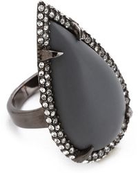Made Her Think - Smashed Talon Ring - Lyst