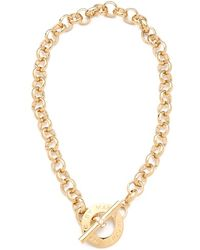 Marc By Marc Jacobs - Toggle Necklace - Lyst
