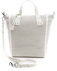 McQ by Alexander McQueen Perforated Stepney Tote - Lyst