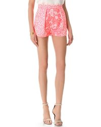 Nicholas | French Jacquard Shorts | Lyst