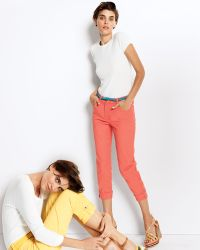 Not Your Daughter's Jeans Carmen Buttoncuff Cropped Jeans - Lyst