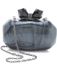 Overture Judith Leiber - Haley Resin Clutch - Lyst