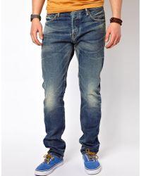 Pepe Heritage - Jeans Guzzi Regular Fit Authentic Worn - Lyst