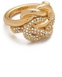 Rachel Zoe - Knot Ring - Lyst