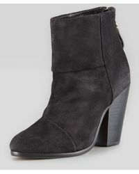 Rag & Bone Newbury Suede Ankle Boot - Lyst