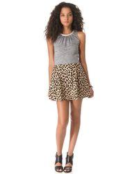 Sea Leopard Jersey Dress - Lyst