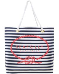 Seafolly - Striped Tote Bag - Lyst