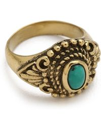 Sunahara - Turquoise Eye Mid Knuckle Ring - Lyst