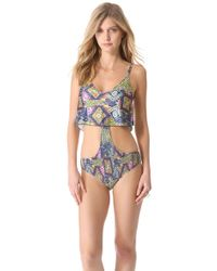 Tallow - Totem Swimsuit - Lyst