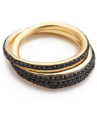 Tom Binns - Bejeweled Saturn Ring - Lyst