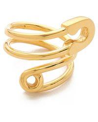 Tom Binns - Safety Pin Wrap Ring - Lyst