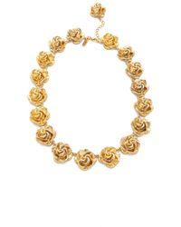 Tuleste - Rosette Necklace - Lyst