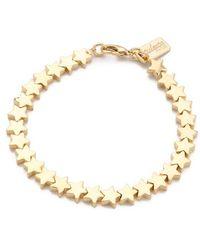 Tuleste - Star Chain Bracelet - Lyst