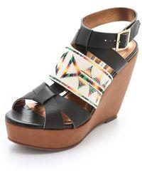 Twelfth Street Cynthia Vincent - Lakota Wedge Sandals - Lyst