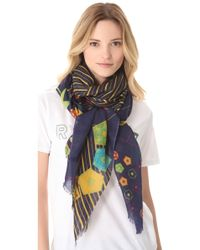 We Are Owls - Cellular Scarf - Lyst