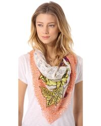 Yarnz Blackberry Pie Scarf - Lyst