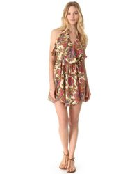 Zimmermann Zoe Layered Cover Up Dress - Lyst