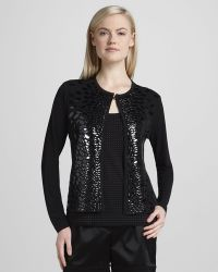 Grayse - Womens Patent Leaves Jacket - Lyst