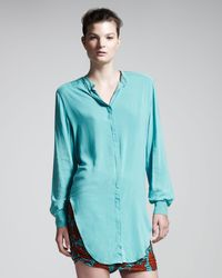 Kelly Wearstler Multicolor Tarzan Shirt - Lyst