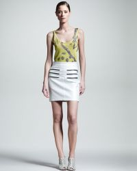 Kelly Wearstler | Figurine Zipdetail Skirt | Lyst