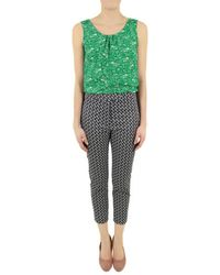 Orla Kiely - Womens Ctb512 Come Fly with Me Trousers - Lyst