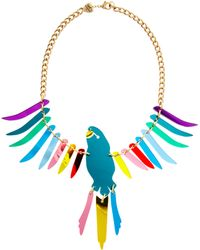 Tatty Devine - Large Parakeet Necklace - Lyst