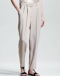 The Row Pleated Suit Pants - Lyst