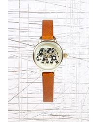 Urban Outfitters - Small Elephant Face Watch - Lyst
