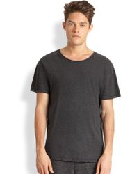 T By Alexander Wang Rollneck T-Shirt - Lyst