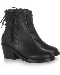 Haider Ackermann Leather Lace Ups