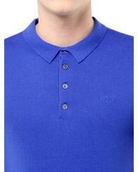 Farhi by Nicole Farhi - Cotton Polo Shirt - Lyst
