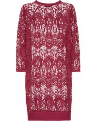 Isabel Marant Cadzi Cotton Guipure Lace Dress - Lyst