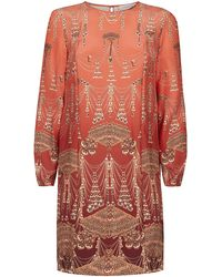 Matthew Williamson Ombre Jewel Shift Dress - Lyst