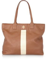 Tory Burch - Patty Texturedleather Tote - Lyst