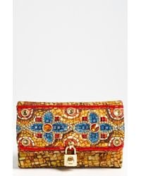 Dolce & Gabbana Miss Dolce Greek Mosaic Shoulder Bag - Lyst