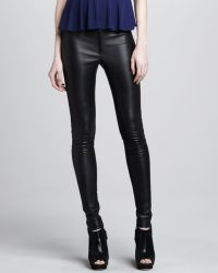 Alice + Olivia Alice Olivia Leather Leggings - Lyst