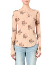 All Things Fabulous - Buttonup Thermal Top - Lyst