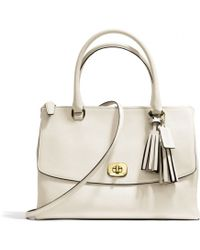 Coach Legacy Large Harper Satchel in Leather - Lyst